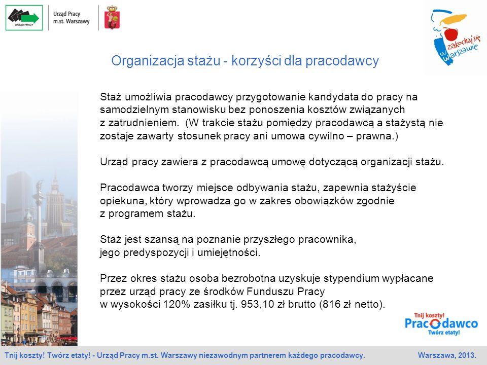 Organizacja stażu - korzyści dla pracodawcy