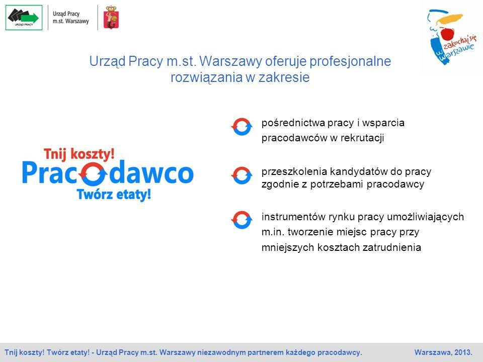 Urząd Pracy m.st. Warszawy oferuje profesjonalne rozwiązania w zakresie
