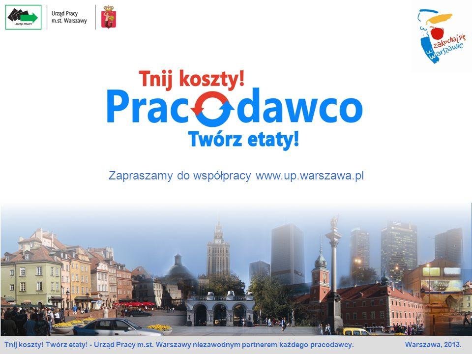 Zapraszamy do współpracy www.up.warszawa.pl