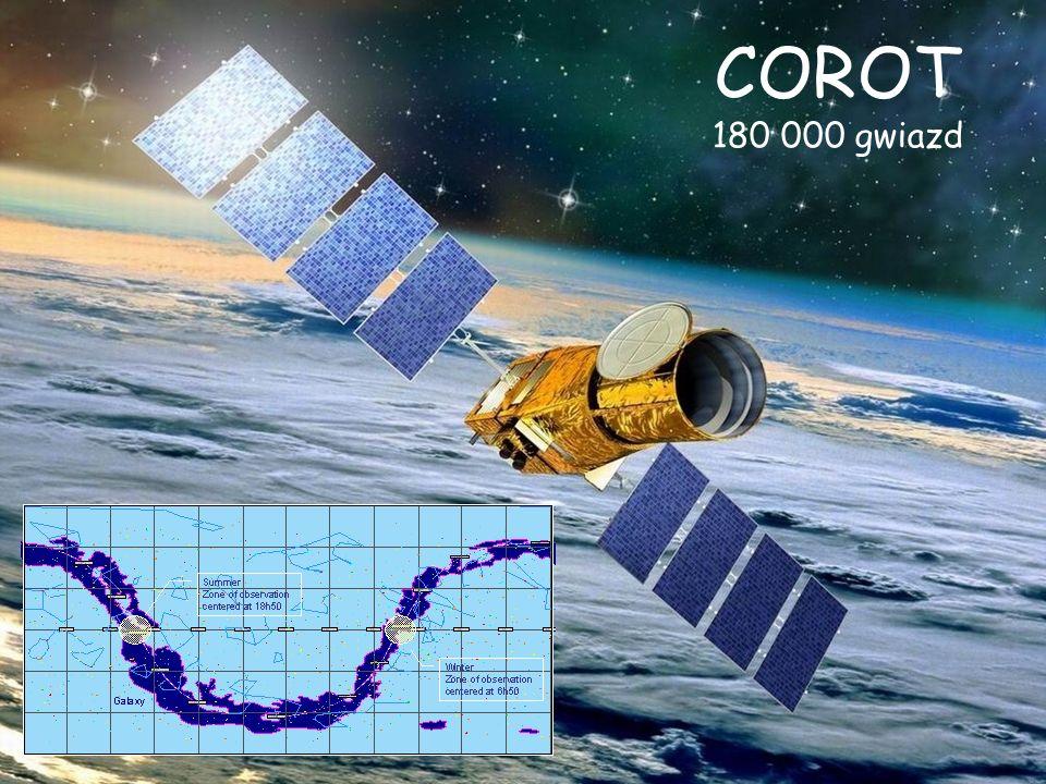 COROT 180 000 gwiazd