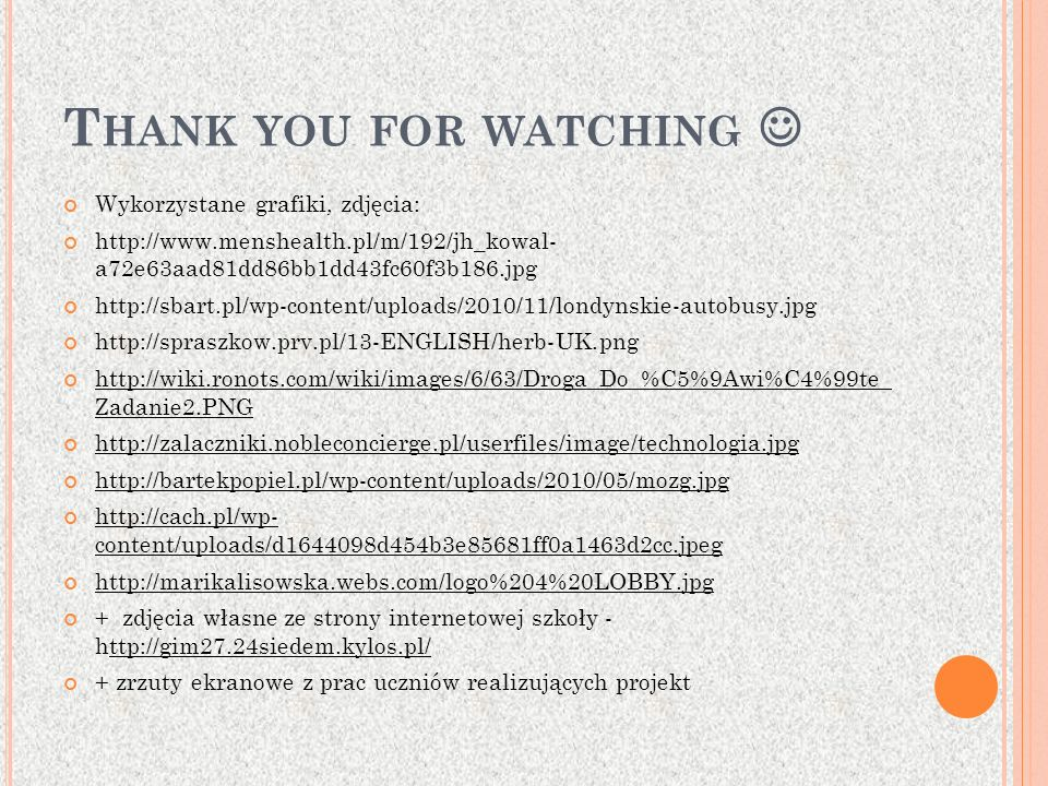 Thank you for watching 