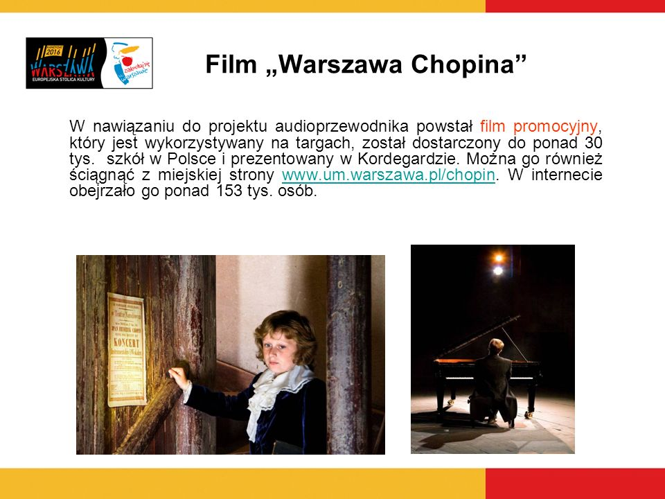 "Film ""Warszawa Chopina"