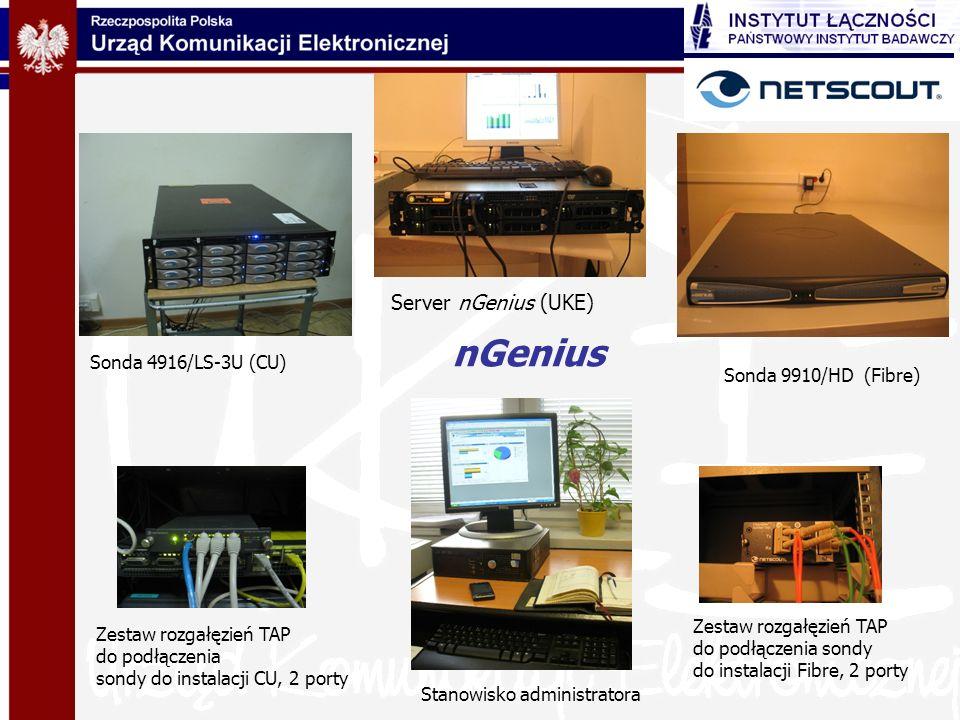 nGenius Server nGenius (UKE) Sonda 4916/LS-3U (CU)