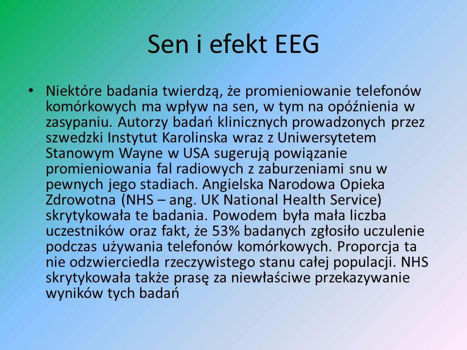Sen i efekt EEG