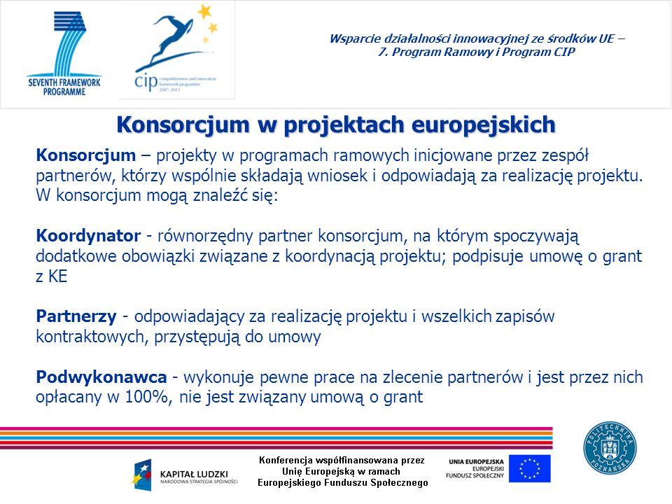 Konsorcjum w projektach europejskich