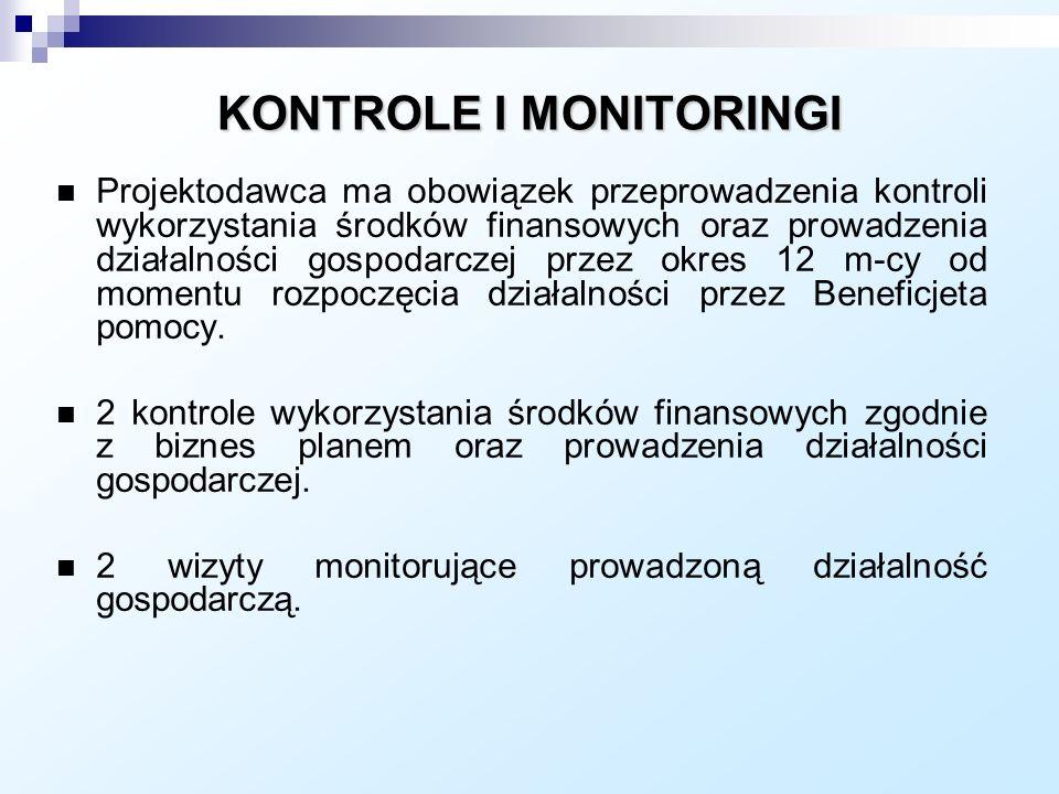KONTROLE I MONITORINGI