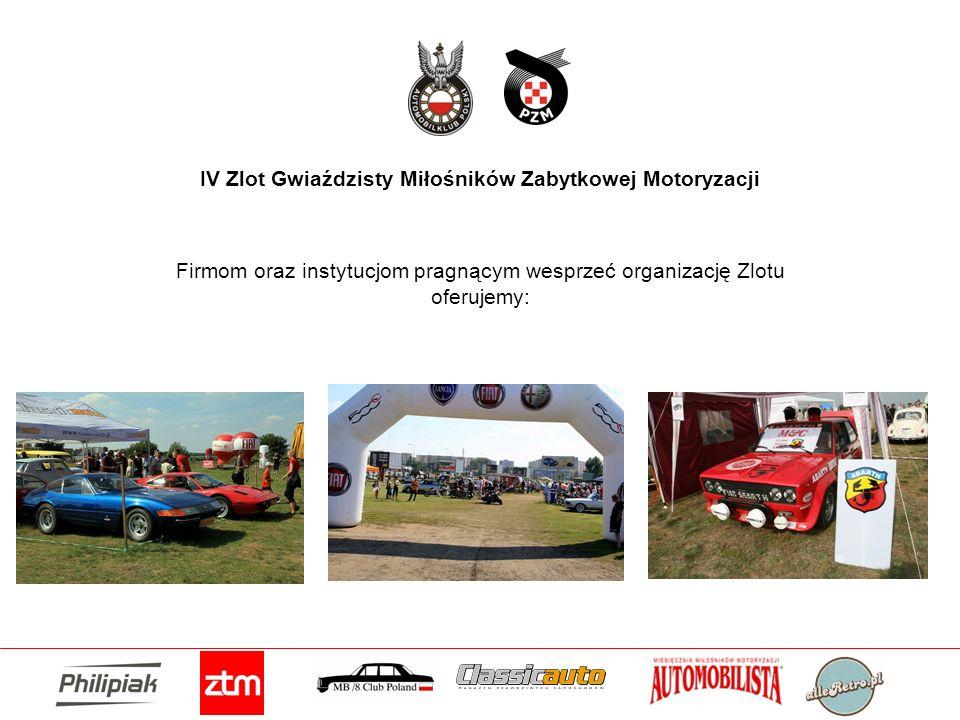 IV Zlot Gwiaździsty Miłośników Zabytkowej Motoryzacji
