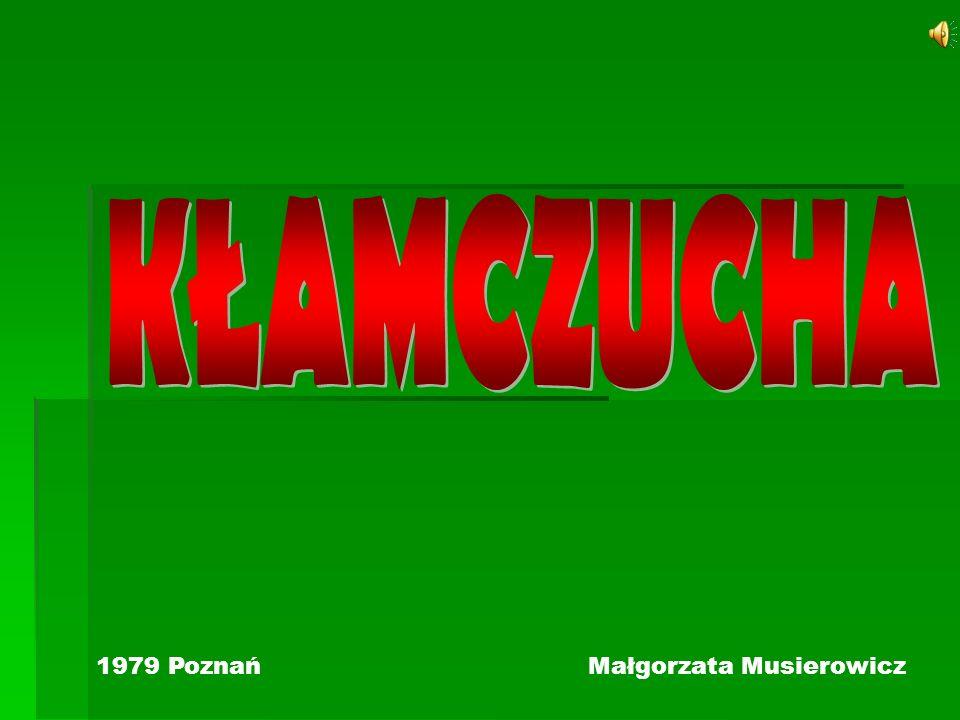 KŁAMCZUCHA 1979 Poznań Małgorzata Musierowicz