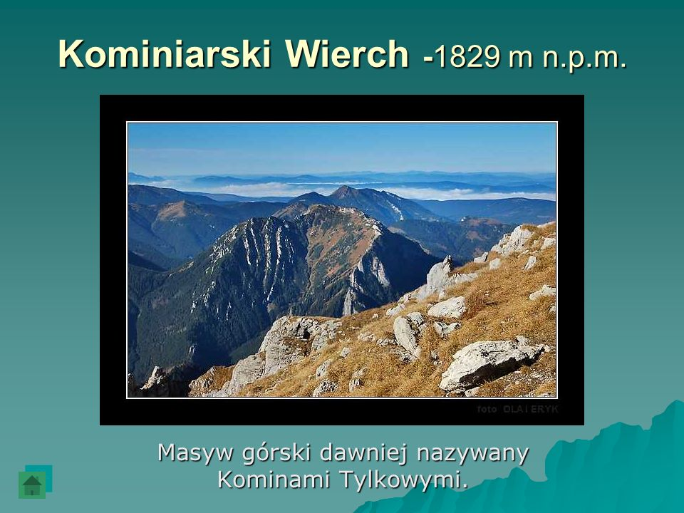 Kominiarski Wierch -1829 m n.p.m.