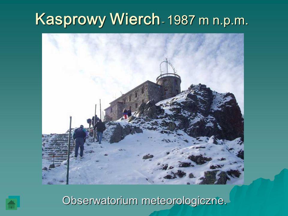 Obserwatorium meteorologiczne.