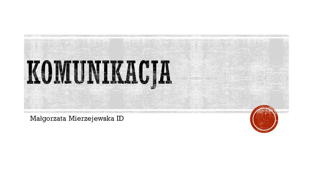 Małgorzata Mierzejewska ID