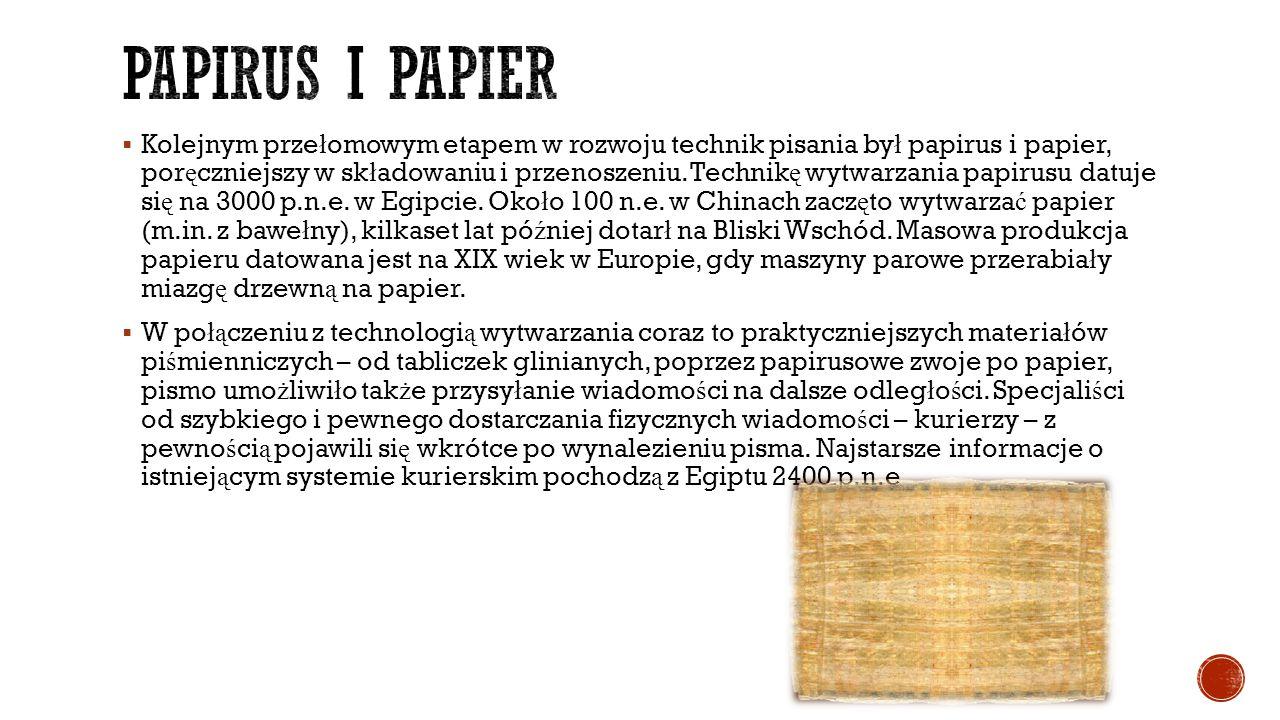 Papirus i papier