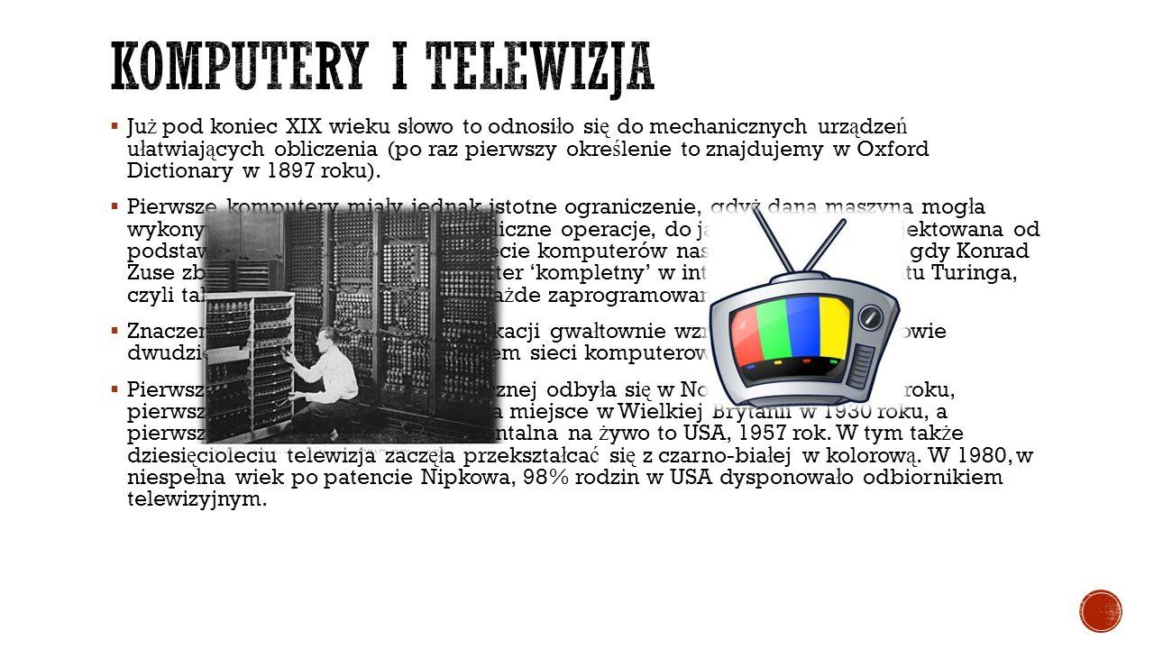 Komputery i telewizja