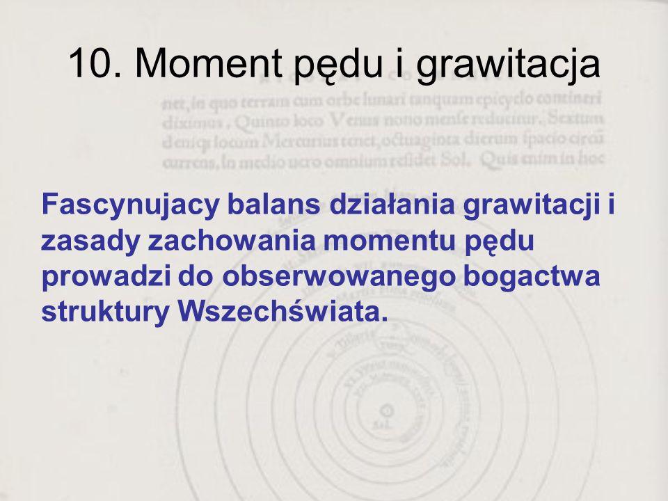 10. Moment pędu i grawitacja