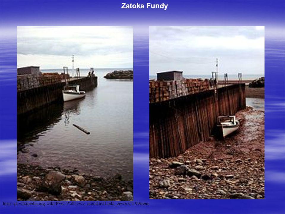 Zatoka Fundy http://pl.wikipedia.org/wiki/P%C5%82ywy_morskie#Linki_zewn.C4.99trzne
