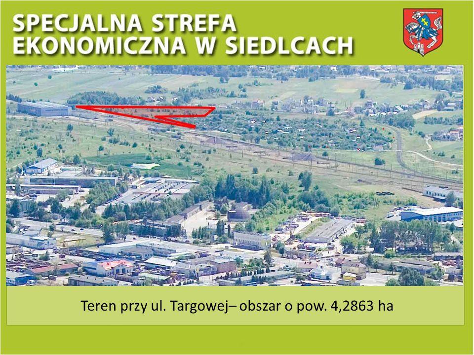 Teren przy ul. Targowej– obszar o pow. 4,2863 ha