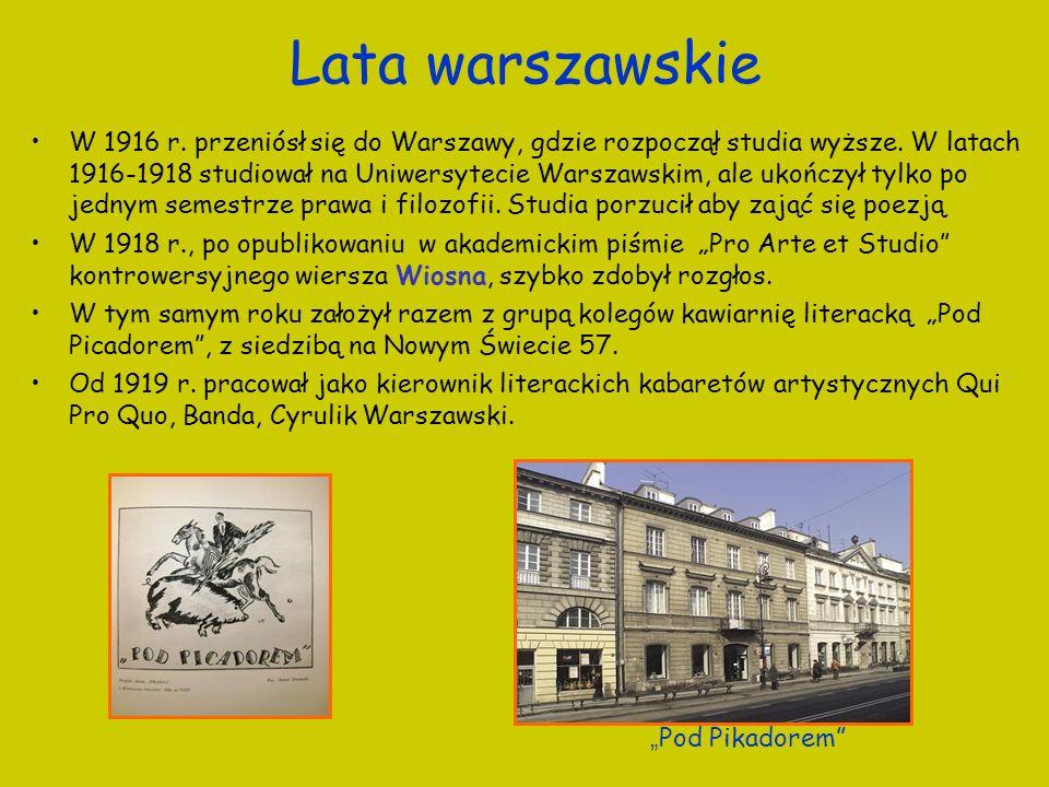 Lata warszawskie