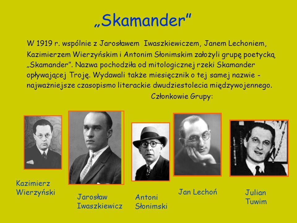 """""""Skamander"""