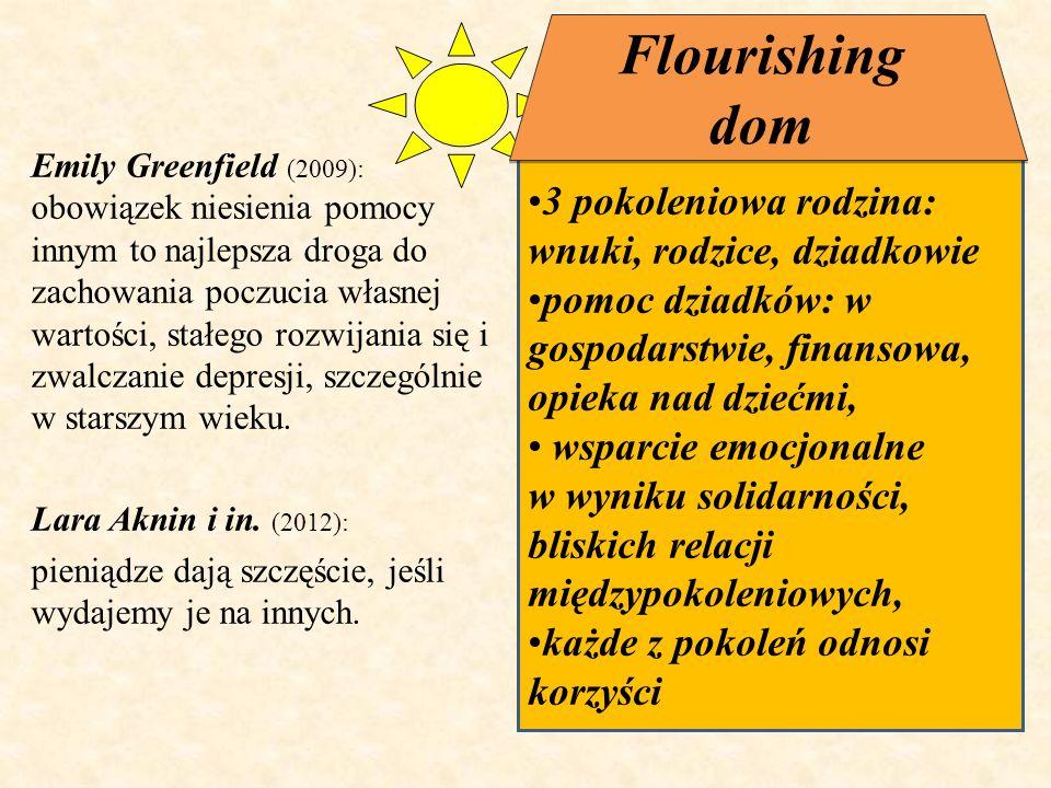 Flourishing dom 3 pokoleniowa rodzina: wnuki, rodzice, dziadkowie