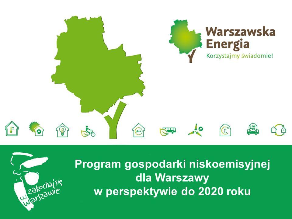 Program gospodarki niskoemisyjnej dla Warszawy