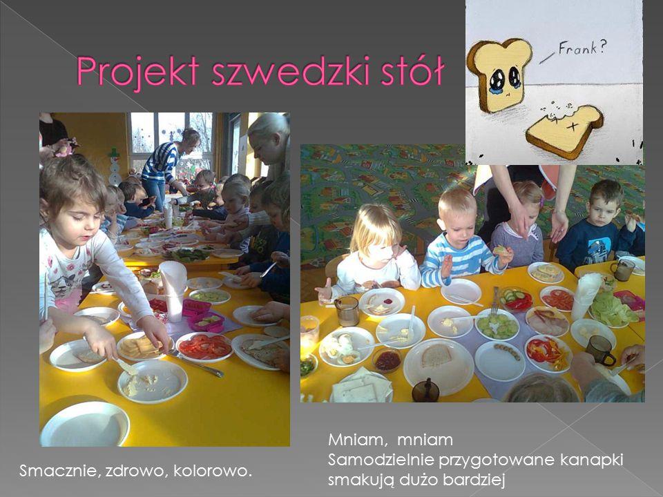 Projekt szwedzki stół Mniam, mniam