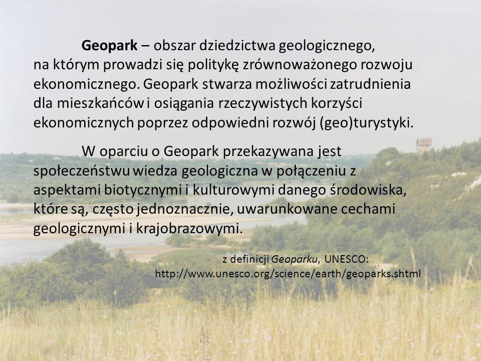 Geopark – obszar dziedzictwa geologicznego,
