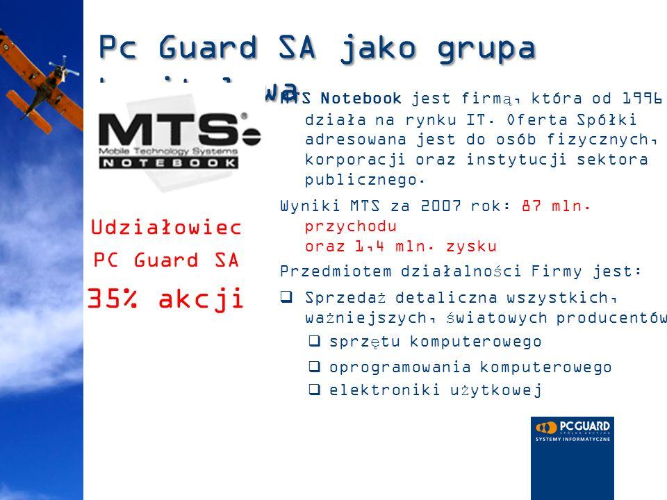 Pc Guard SA jako grupa kapitałowa