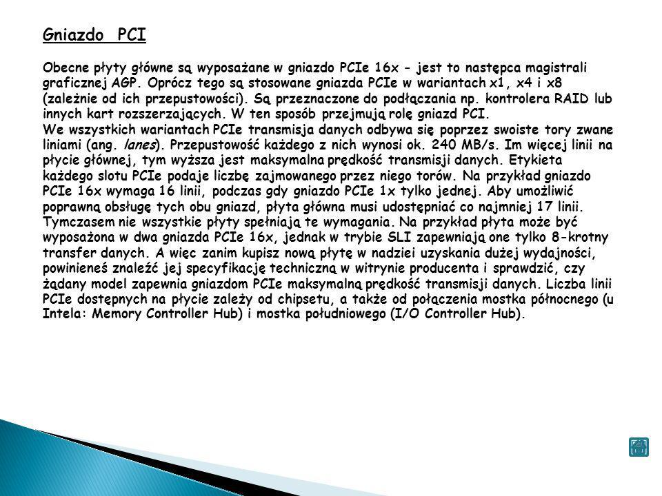 Gniazdo PCI