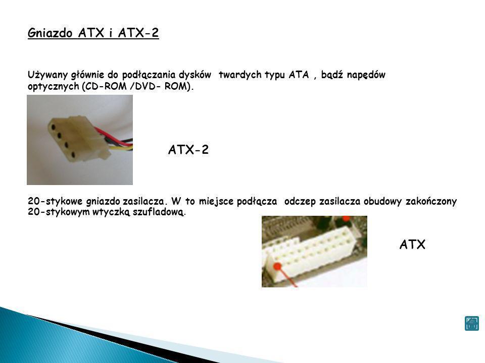 Gniazdo ATX i ATX-2 ATX-2 ATX