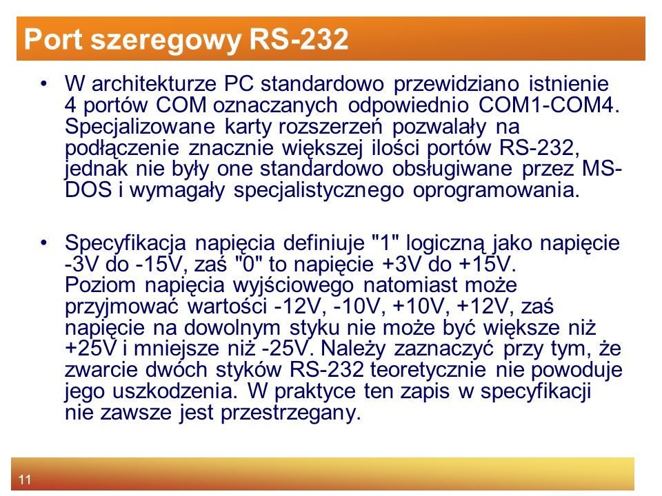 Port szeregowy RS-232