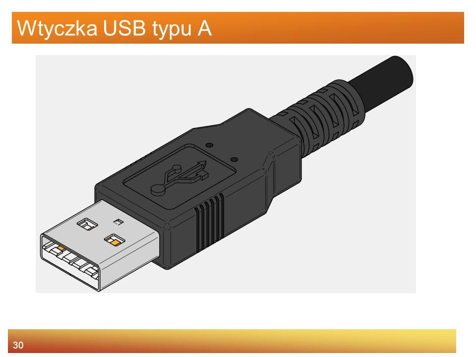 Wtyczka USB typu A