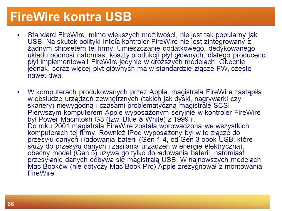 FireWire kontra USB