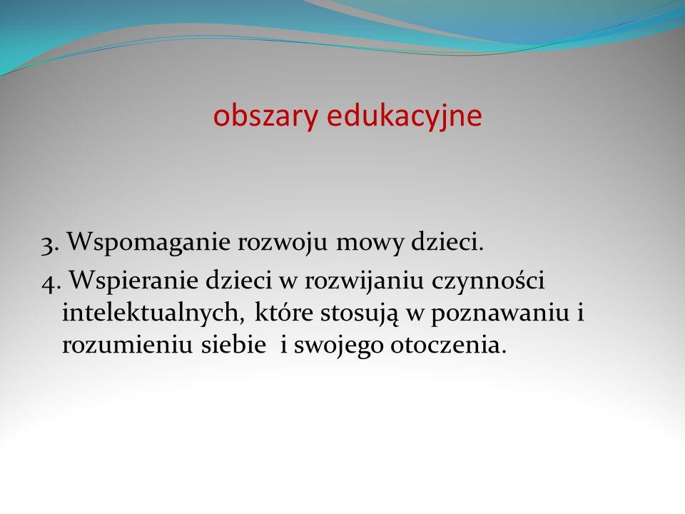 obszary edukacyjne