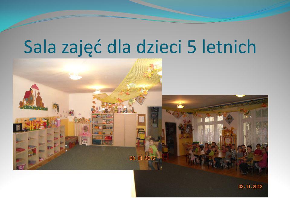 Sala zajęć dla dzieci 5 letnich