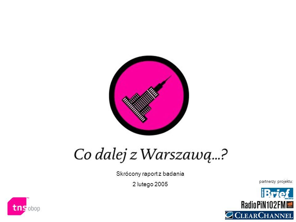 Raport z badania reputacji i satysfakcji z Warszawy 06 grudnia 2004