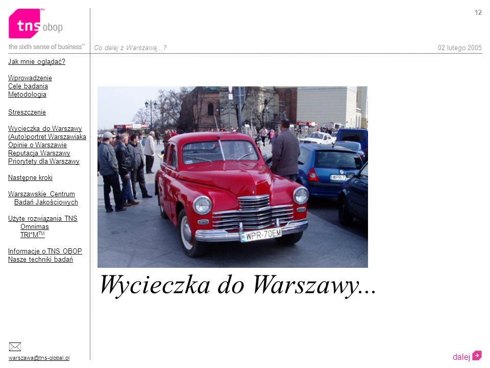 Wycieczka do Warszawy... dalej