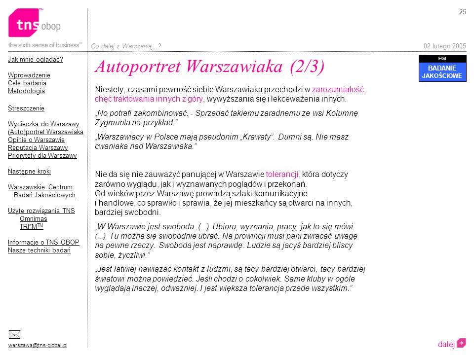 Autoportret Warszawiaka (2/3)