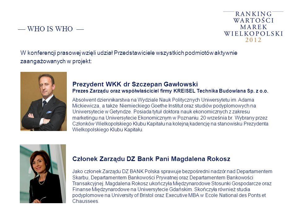 — WHO IS WHO — Prezydent WKK dr Szczepan Gawłowski