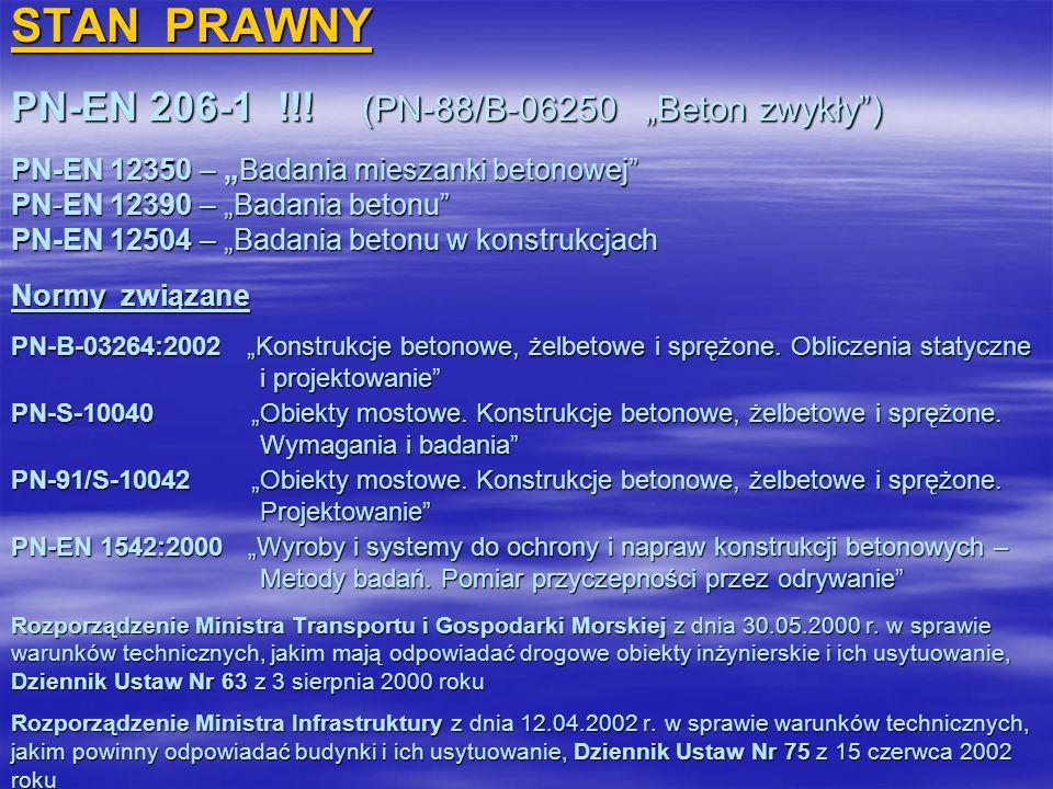 STAN PRAWNY PN-EN 206-1 !!.