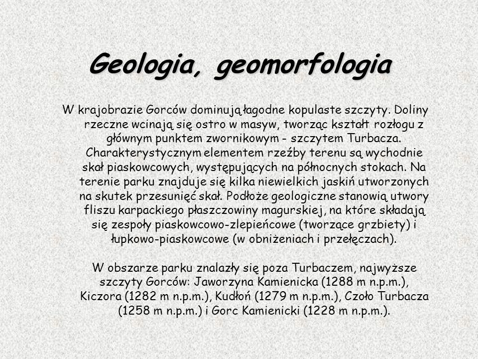 Geologia, geomorfologia