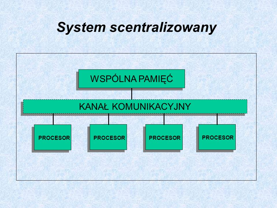 System scentralizowany