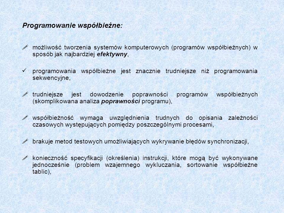 Programowanie współbieżne: