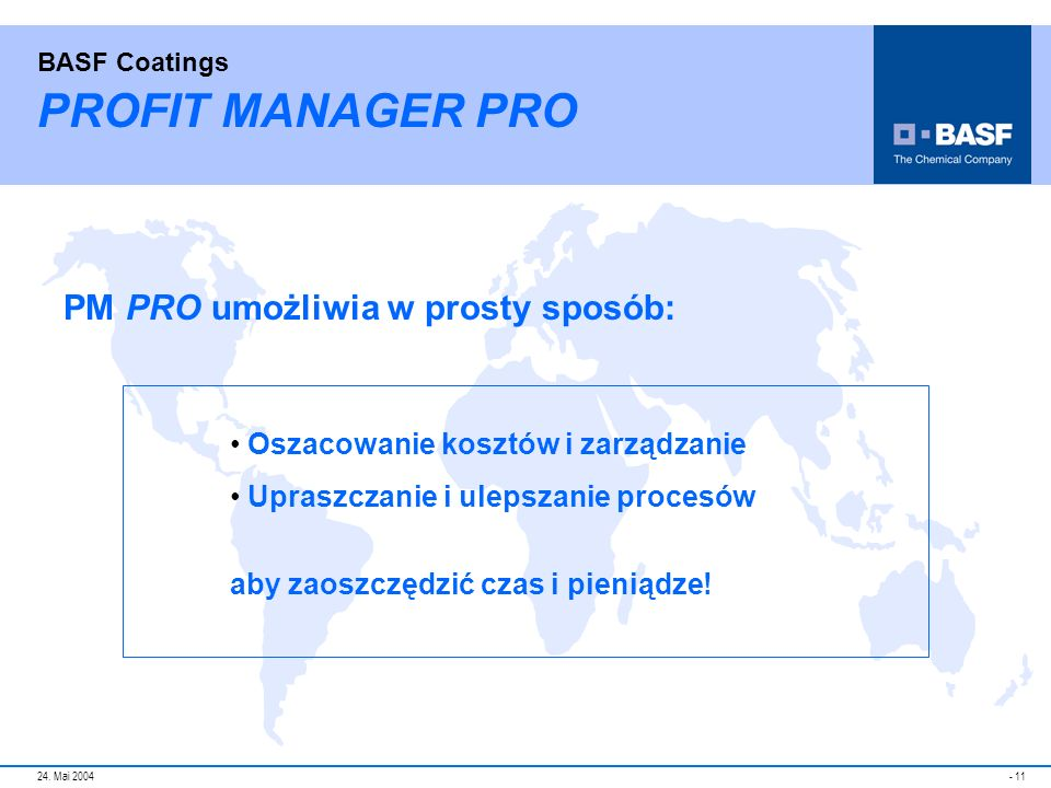 PROFIT MANAGER PRO PM PRO umożliwia w prosty sposób: