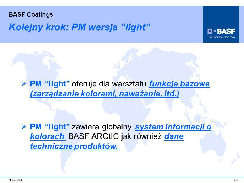 Kolejny krok: PM wersja light