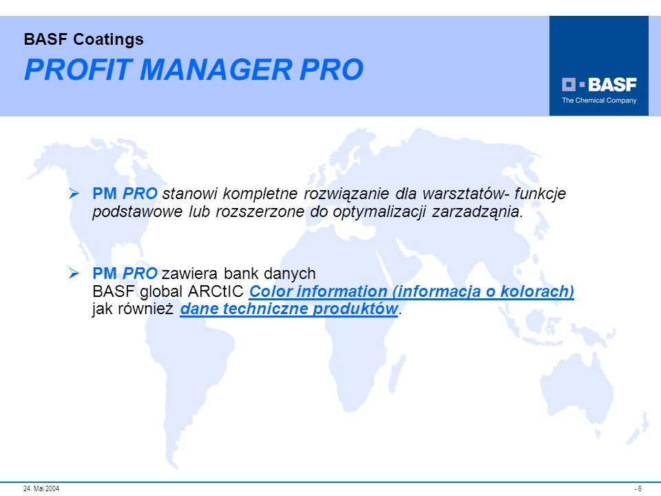 PROFIT MANAGER PRO PM PRO stanowi kompletne rozwiązanie dla warsztatów- funkcje podstawowe lub rozszerzone do optymalizacji zarzadząnia.
