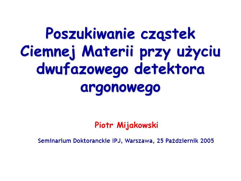 Seminarium Doktoranckie IPJ, Warszawa, 25 Październik 2005