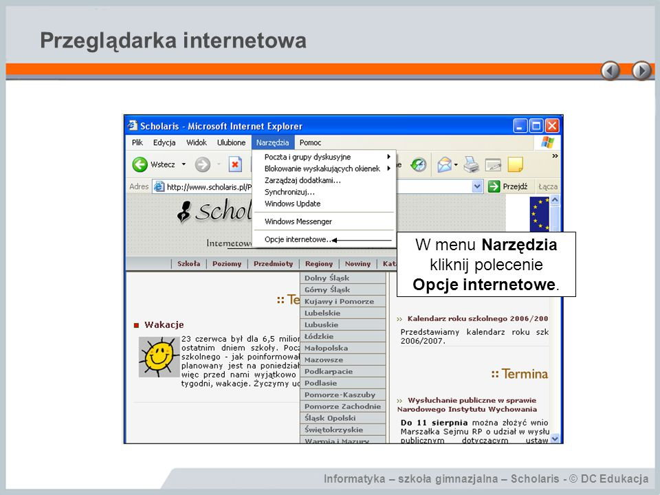 Przeglądarka internetowa