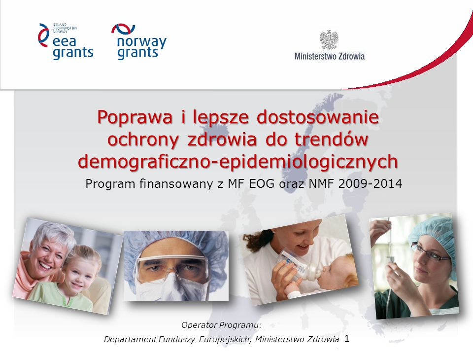 Program finansowany z MF EOG oraz NMF 2009-2014