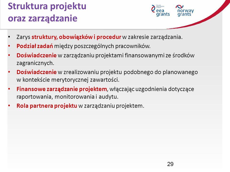 Struktura projektu oraz zarządzanie