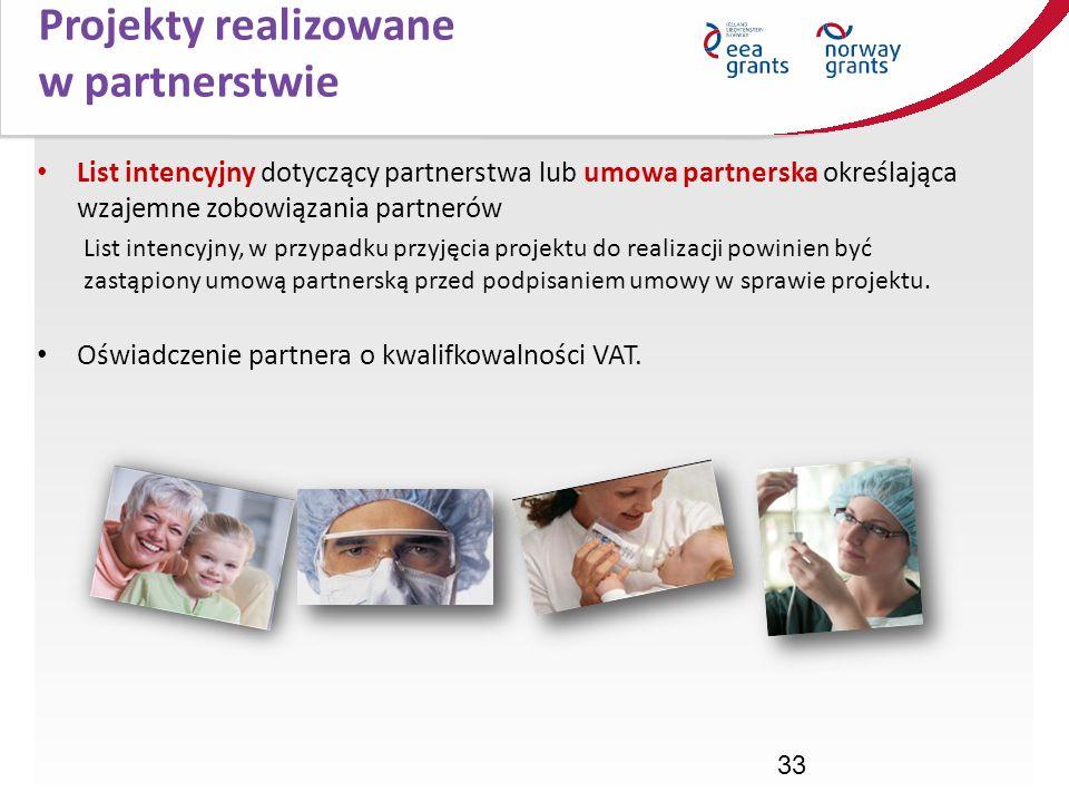 Projekty realizowane w partnerstwie